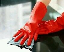 6 Pairs Premium rubber gloves for gardening / cleaning / chemical work other use