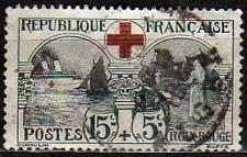 "FRANCE N° 156 ""CROIX ROUGE 1918"" OBLITERE TB VALEUR:70€"