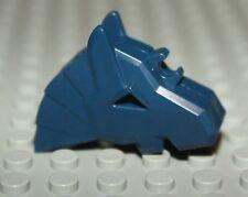 Lego Castle Dark Blue Horse Helmet Angular NEW