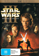 STAR WARS: Episode III [3] - Revenge Of The Sith DVD TOP 1000 MOVIES SCI-FI R4
