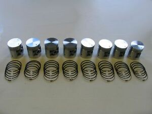 Pistons & Rings 48 49 50 51 52 53 54 Packard 8cyl 288 327 NEW SET