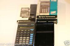 Texas Instruments TI-35X Calculadora fracciones 2 Vars estadísticas en caja + instrucciones