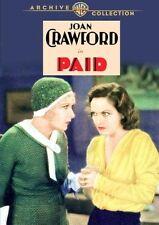 PAID - (B&W) (1930 Joan Crawford) Region Free DVD - Sealed