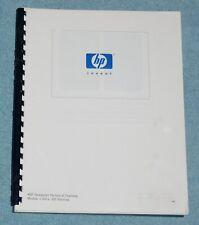 HP DesignJet Technical Training Manual