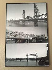 Portland OR Architecture Civil Structures Bridges Photography Home Decorations