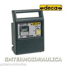 Carica batterie DECA MACH 116 Alimentazione 1Ph 230V  Batteria 12V 20>90 Ah