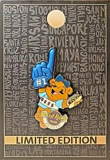 Hard Rock Cafe Chicago Hotel Sports Cubbie Cubs Bear #1 2017 Pin LE NEW # 94618