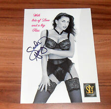 Sarah Young *TOP Pornostar Boobbs*, original signed Card 15x20 cm *SEXY