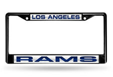 Rico Los Angeles Rams Laser Chrome License Plate Frame