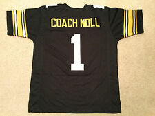 UNSIGNED CUSTOM Sewn Stitched Cuck Noll Black Jersey - Extra Large
