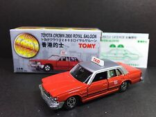 Made in Japan Tomy Tomica Hong Kong Red Taxi Toyota Crown 2800 Royal Saloon 1/65