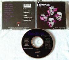Anacrusis - Manic Impressions CD ORG 1991 METAL BLADE atheist believer voivod