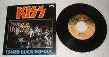 "KISS ""Hard Luck Woman b/w Mr. Speed"" Single Box Set Germany Picture sleeve Vinyl"