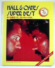 HALL & OATES SUPER BEST BAND SCORE JAPAN TAB