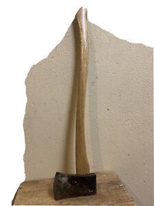 """(4.5x7.25Head)x 32""""L Handle VTG Smiec Axe/Sweden ,With Wooden Handler."""