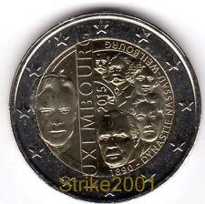 2 EURO COMMEMORATIVO LUSSEMBURGO 2015 Dinastia