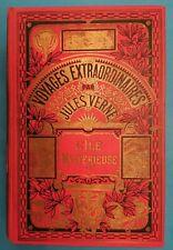 L'ÎLE MYSTÉRIEUSE - Jules VERNE - Edition HACHETTE coll HETZEL (1935)