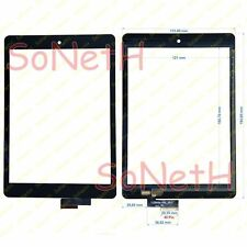 "Vetro Touch screen Digitizer 8,0"" Mediacom SmartPad S2 8S2A3G 3G Tablet Nero"