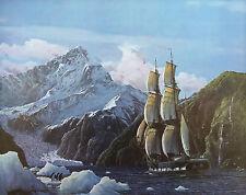 Raymond Massey Limited Edition Print - 'HMS Beagle 1832'