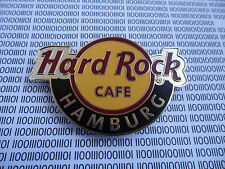 HARD ROCK CAFE HAMBURG GERMANY - ROUND LOGO - CITY MAGNET ( not bottle opener )