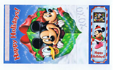 Mickey Mouse Happy Holidays Card and Bookmark with Movie Cell Disney Promo