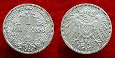 Germany / Empire - 1 Mark 1909 G ~ silver