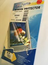 Screen Guard Protector in Clear for Nokia E63 XSCP-NOKE63 Brand New Sealed pack