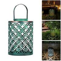 Retro Solar LED Lantern Ground Light Outdoor Garden Lawn Landscape Decor Lamp
