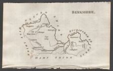 Berkshire 1700-1799 Date Range Antique Europe Sheet Maps
