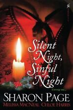 Silent Night, Sinful Night by Sharon Page (UK-B Format Paperback)