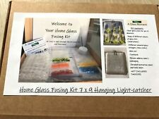 Home Glass Fusing Kits - make your own light-catcher - includes firing