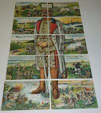 Generalfeldmarschall Paul von Hindenburg Ostpreußen 10 AK Puzzle Militaria 1916