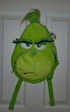 How the Grinch Stole Christmas Kids Small Mini Backpack Bookbag Bag New & Rare