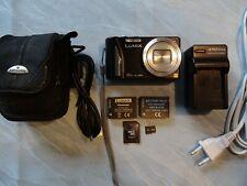 Panasonic LUMIX DMC-ZS15/DMC-TZ25 12.1MP Digital Camera - Black + Extras