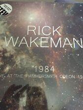 RICK WAKEMAN 1984 Live At The Hammersmith Odeon 140g white vinyl 2 LP SEALED/NEW