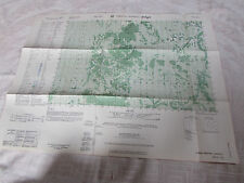 Vietnam war_Us Army_Macv map _ Phnum Andeng_5852 Ii_ 1965