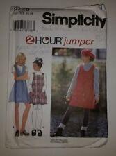 Simplicity 9728 Size 12 14 Girls' Jumper
