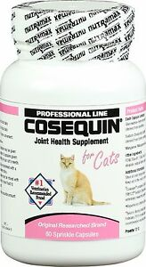 Nutramax Cosequin Sprinkle Capsules for Cats (80 ct) NEW 10/2024