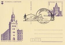 Poland postmark KRYNICA - mountain shelter JAWORZYNA