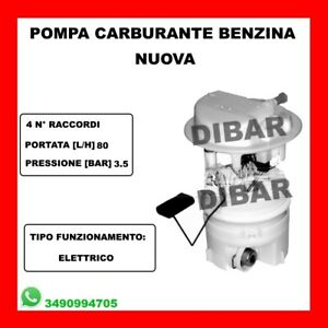 CARBURANTE promozione POMPA PER PEUGEOT 206 CC 2d Cabrio 1.6 2.0