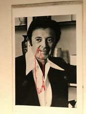Vic Damone Pop & Big Band Singer Actor Writer Mafia Tie Autograped Photograph