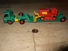 MATCHBOX KING SIZE FORD TRACTOR, DYSON LOW LOADER & CASE TRACTOR K-17 DIECAST