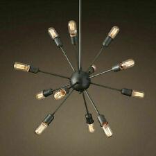 Industrial Vintage Atomic Sputnik Chandelier Light Ceiling Pendant Lamp Fixture
