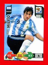 SOUTH AFRICA 2010 - Adrenalyn Panini - Card Base-Basic - MILITO - ARGENTINA