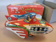 Rocket Racer #6, Friktion/Schwungradantrieb, Knatterton, 19 cm, China MF-735 OVP