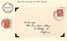AT80 1947 Australia New South Wales T.P.O 2 North AUST {samwells-covers}PTS