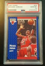 Michael Jordan 1991 Fleer Graded PSA GEM MINT 10