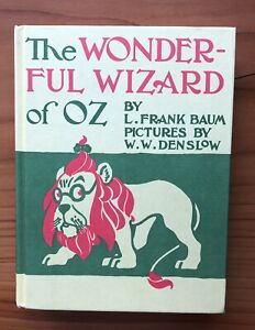 The Wonderful Wizard of Oz ~ Facsimile of 1900 First Edition ~ L.Frank Baum