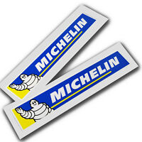 Michelin car motorcycle racing decals custom graphics stickers x 2 pcs