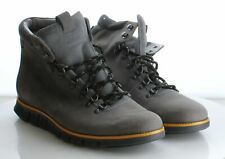 42-18 MSRP $300 Men's Size 12M Cole Haan Zerogrand Gray Suede Hiking Boots
